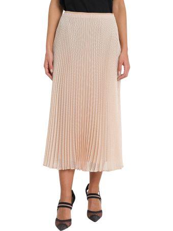 Fendi Organza Micro Mesh Skirt