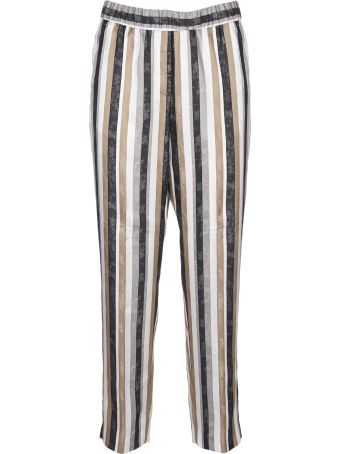 Peserico Striped Trousers