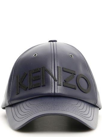 Kenzo Unisex Leather Baseball Cap