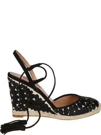 bc0eee18daa4 Aquazzura Espadrilles Wedge Sandals. Aquazzura