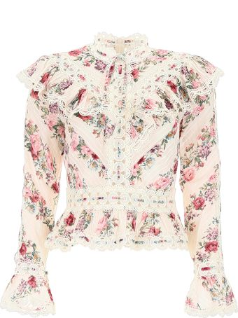 Zimmermann Embroidered Top