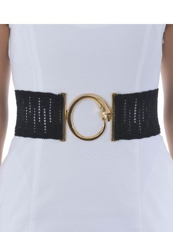 CLASS Roberto Cavalli Class R Cavalli Striped Belt