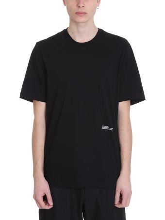 OAMC Se Black Cotton T-shirt