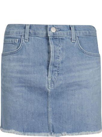J Brand Bonny Denim Skirt