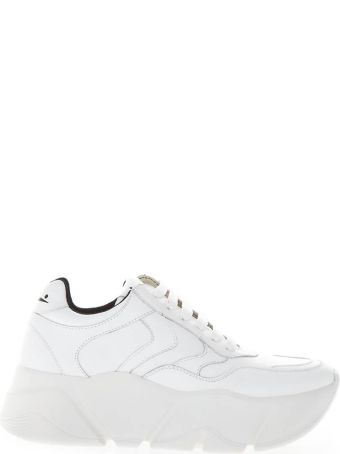 Voile Blanche Monster White Leather Sneaker