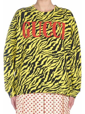 Gucci 'tiger Instinct' Sweatshirt
