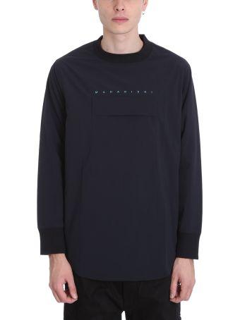 Maharishi Blue Nylon Sweatshirt