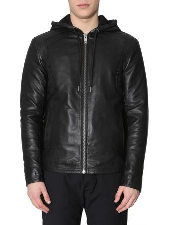 Les Hommes Hooded Jacket