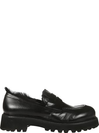 Rocco P. Fur-detailed Loafers