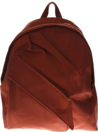 Eastpak Orange Backpack In Fabric