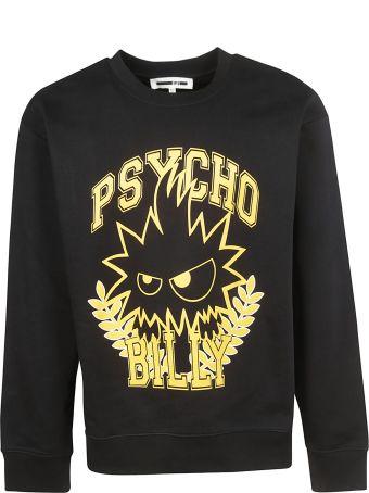 Alexander Mcqueen Psycho Billy Print Sweatshirt