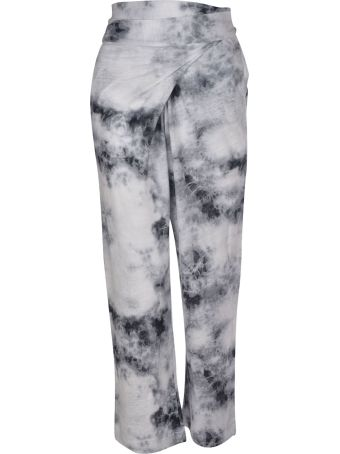 Majestic Filatures Printed Fitted Waist Trousers