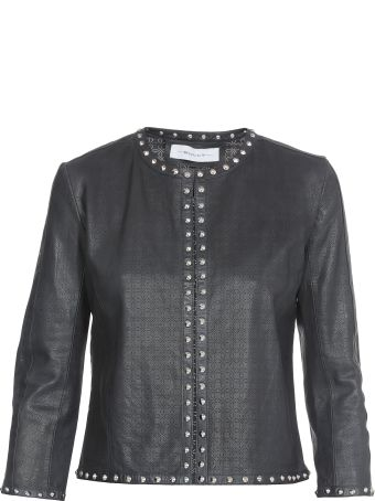 Bully Perforated Stud Chanel Jacket
