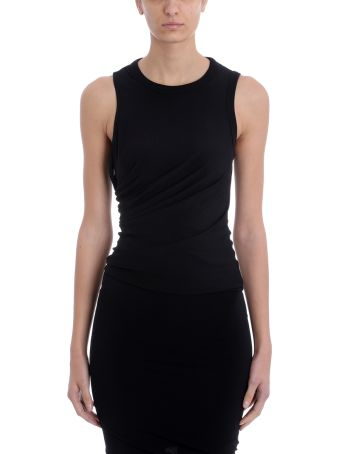 T by Alexander Wang Twisted Crepe Top