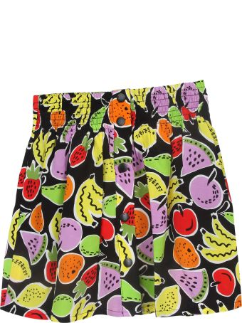 Stella McCartney Kids Fruity Print Skirt