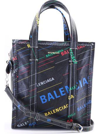 Balenciaga Shopper Bazar Xs Multicolor