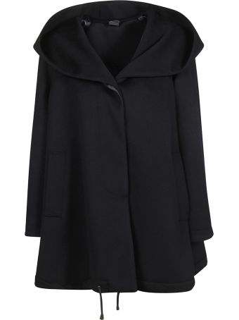 Aspesi Drawstring Hem Hooded Coat