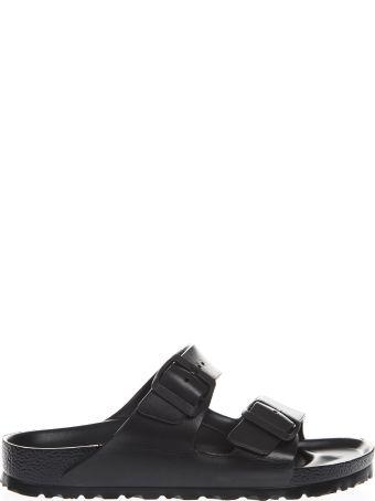 Birkenstock Black Arizona Slippers