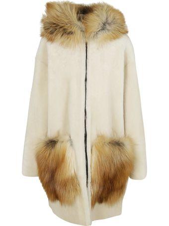 Ines & Marechal Bonbon Furred Coat