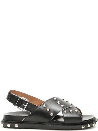 Marni Studded Fussbett Sandals