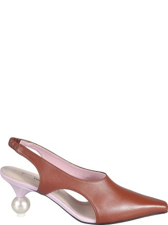 Yuul Yie Pointed Toe Slide-on Pumps