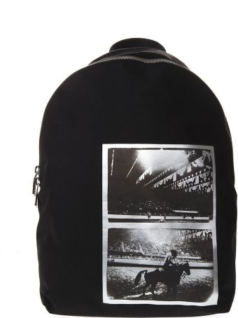 Calvin Klein Andy Warhol Black Nylon Backpack