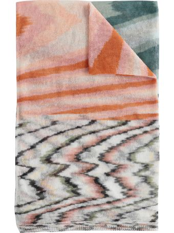 Missoni Multicolor Knitted Scarf