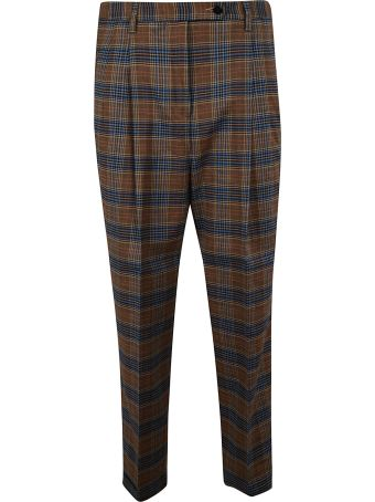 Brag-Wette Checked Trousers