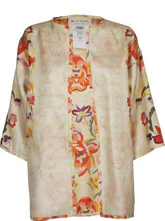 Etro Floral Kimono Jacket