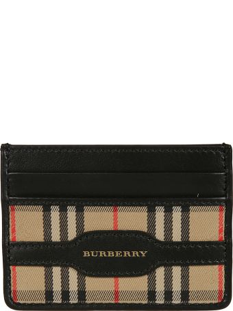 Burberry 1983 Checked Card Case