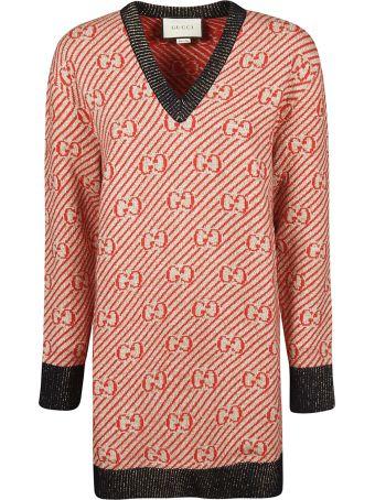 Gucci Gg Striped Sweater