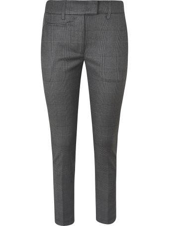 Dondup Checked Slim Trousers