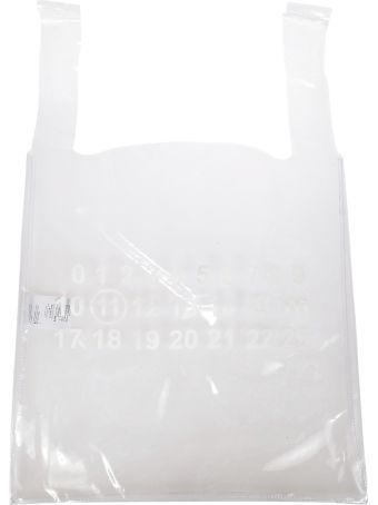 Maison Margiela Logo Patch Shopper Bag