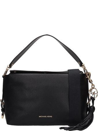 Michael Kors Black Leather Brooke Bag