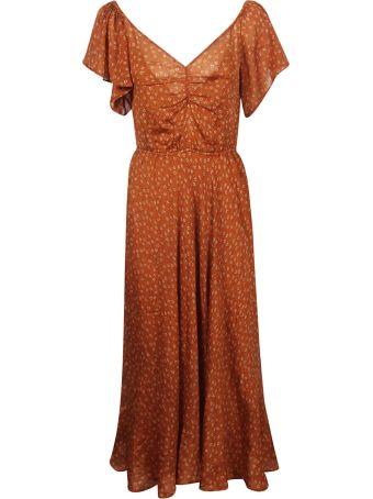 Mes Demoiselles Printed Maxi Dress
