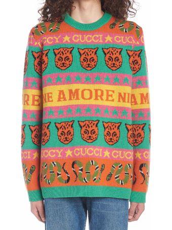 Gucci 'sine Amore Nihil' Sweater