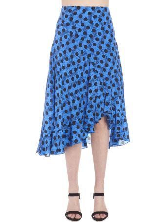 Kenzo 'wave Polka' Skirt
