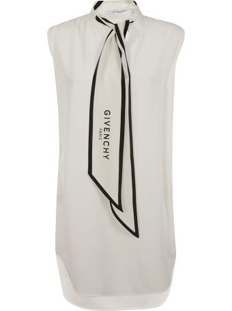 Givenchy Logo Bow Tie Dress
