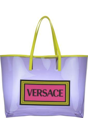 Versace Vinile Vintage Logo 90's Tote Bag