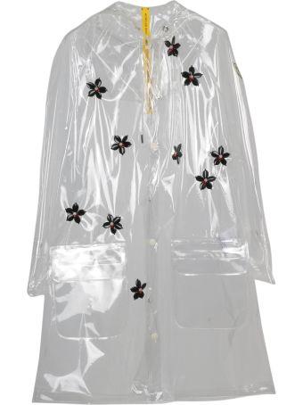 Moncler Genius Floral Raincoat