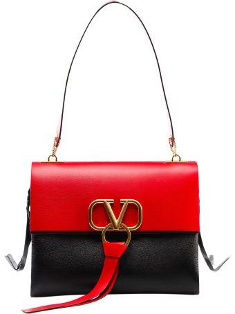 Valentino Garavani Medium V Ring Shoulder Bag