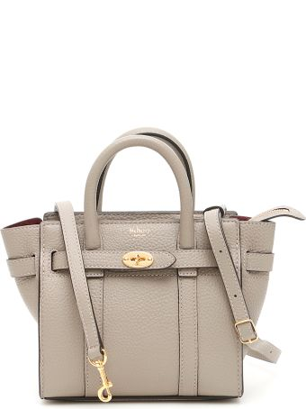 c88a6248ddb0 Mulberry Micro Zipped Bayswater Bag