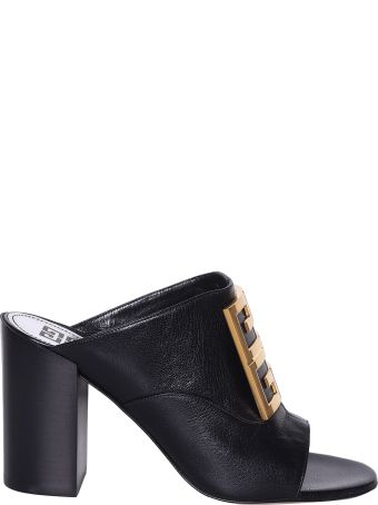 Givenchy Logo Plaque Mules