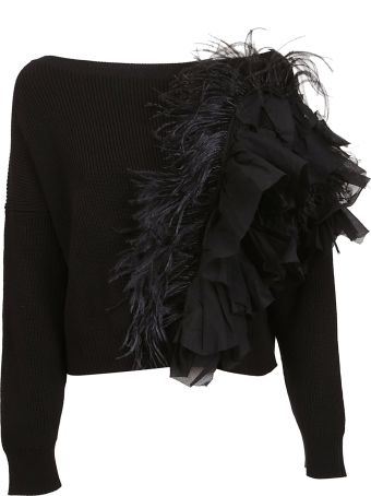 N.21 Feathered Detail Sweater