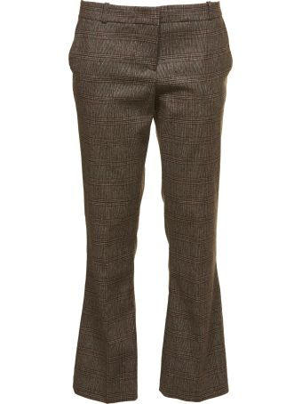 Kiltie & Co. Plaid Cropped Tailored Trousers