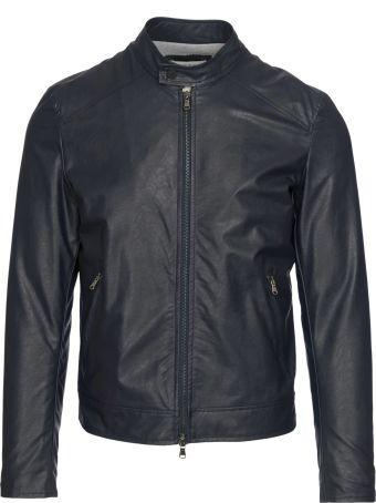 Manuel Ritz Faux Leather Biker
