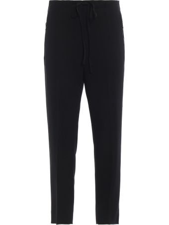 Bottega Veneta Drawstring Cropped Trousers