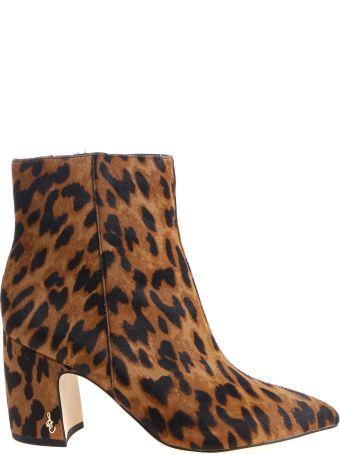 Sam Edelman Hilty Leopard Boots
