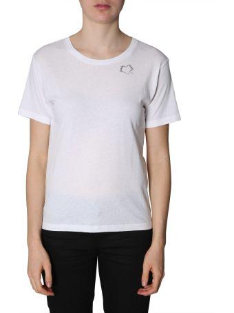 Saint Laurent Heart Sl Print T-shirt