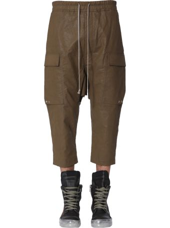 Rick Owens Cargo Crop Trousers